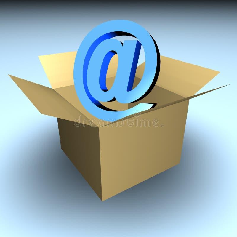 Inbox royalty illustrazione gratis