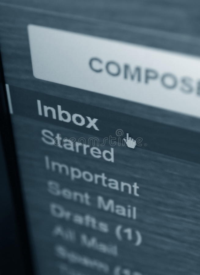 Download Inbox folder stock image. Image of mail, inbox, concept - 24924947