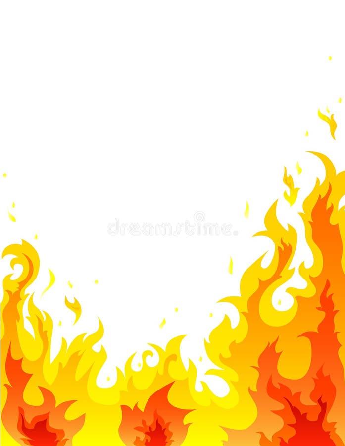 Incêndio ilustração stock