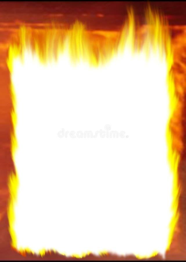 Incêndio ilustração do vetor