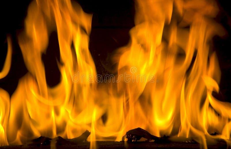 Download Incêndio foto de stock. Imagem de queimadura, inflamável - 65844
