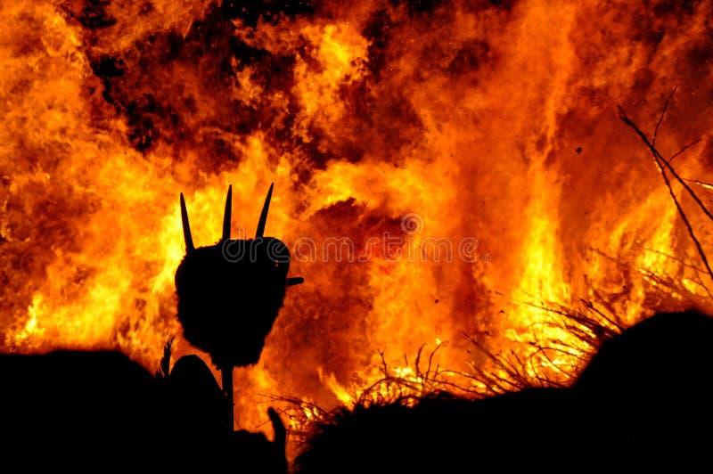 Incêndio ardente fotos de stock