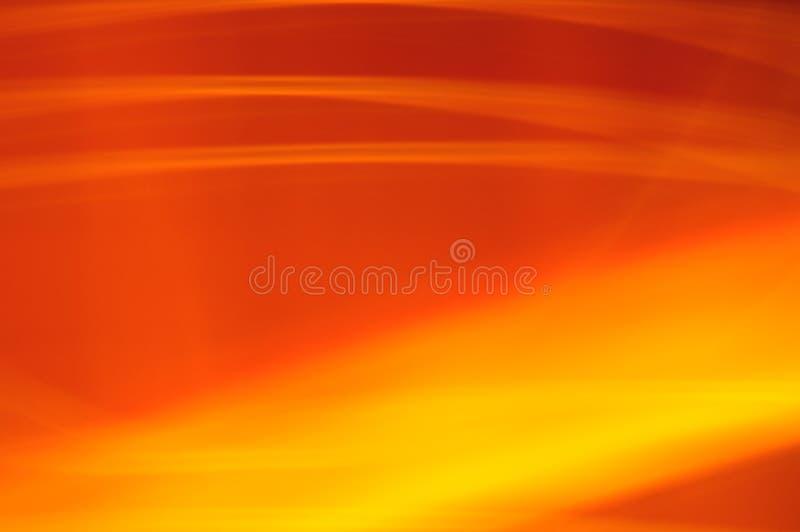 Incêndio borrado alaranjado do fulgor ilustração royalty free