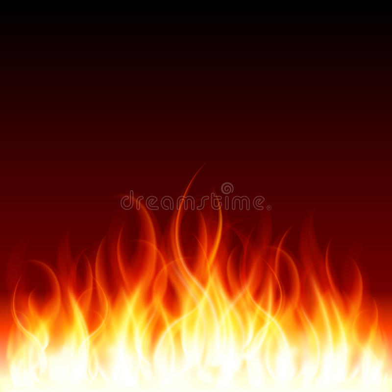Incêndio da flama da queimadura imagem de stock