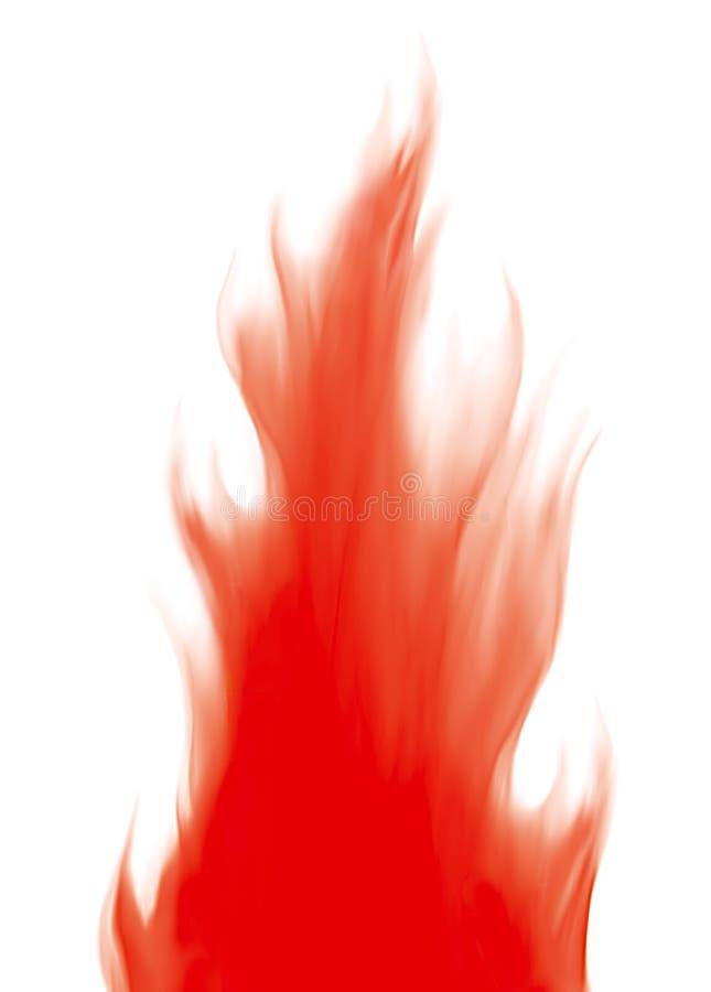 Incêndio e flamas ilustração royalty free