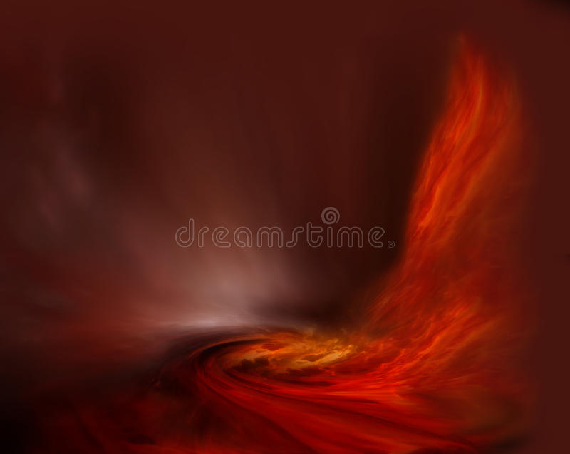 Incêndio místico