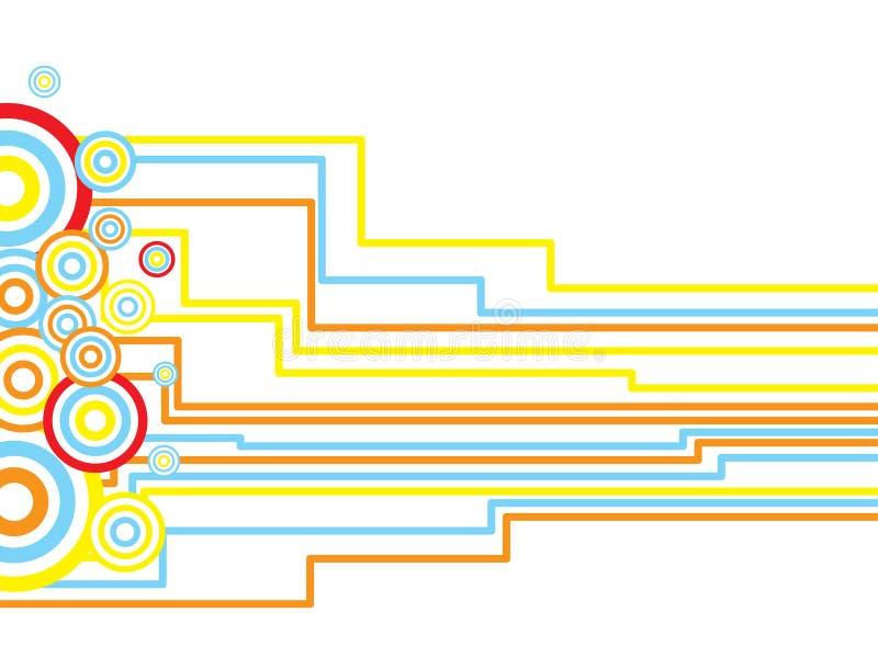 inca κύκλων διανυσματική απεικόνιση