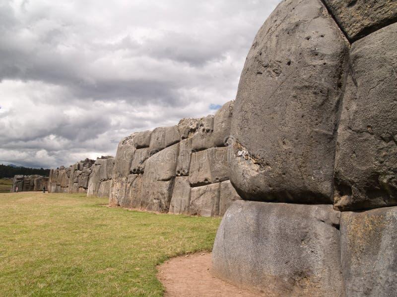 inca крепости sacsayhuaman стоковые фотографии rf