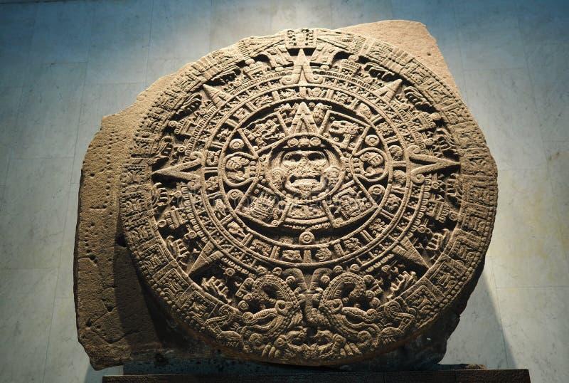 Inca Artwork in Città del Messico fotografie stock libere da diritti