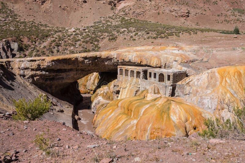 Inca Bridge Andes photographie stock