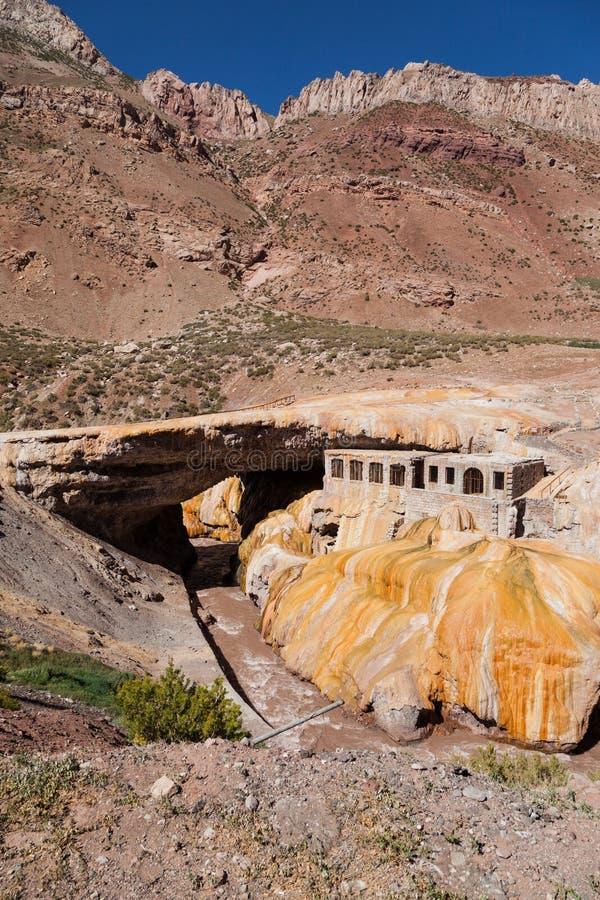 Inca Bridge Andes royalty-vrije stock afbeeldingen