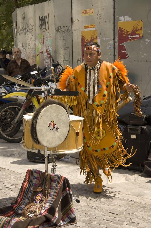 Inca del nativo americano fotografía de archivo