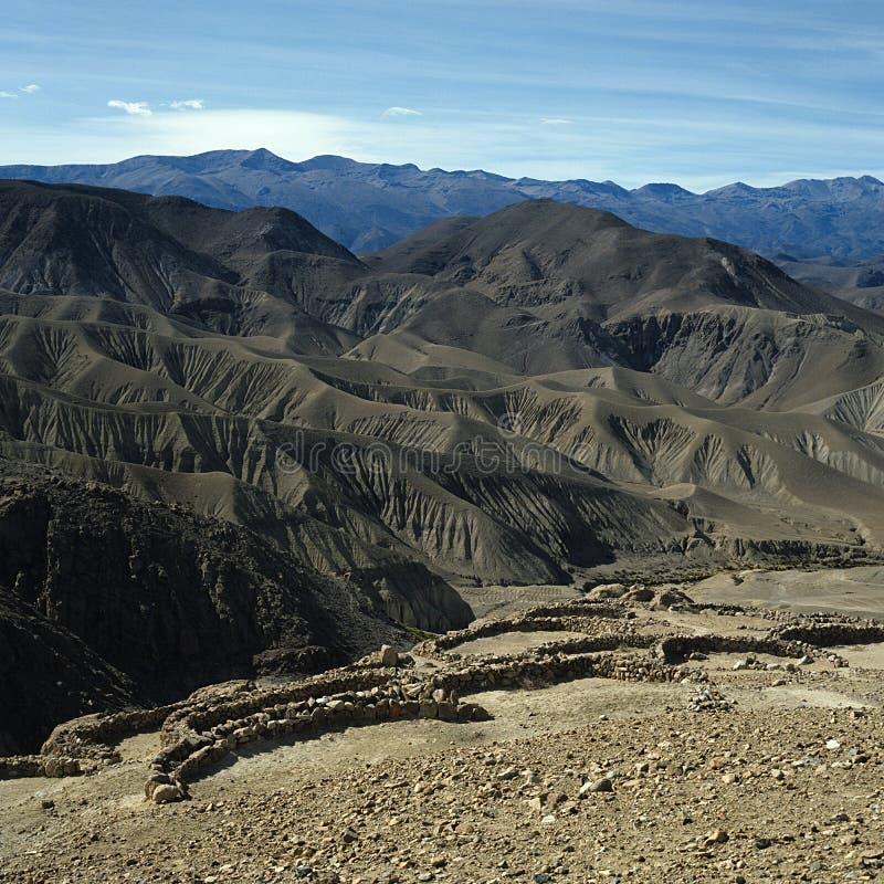 Download Inca- Eller Pukara Befästning Fotografering för Bildbyråer - Bild av wild, bredd: 27281877