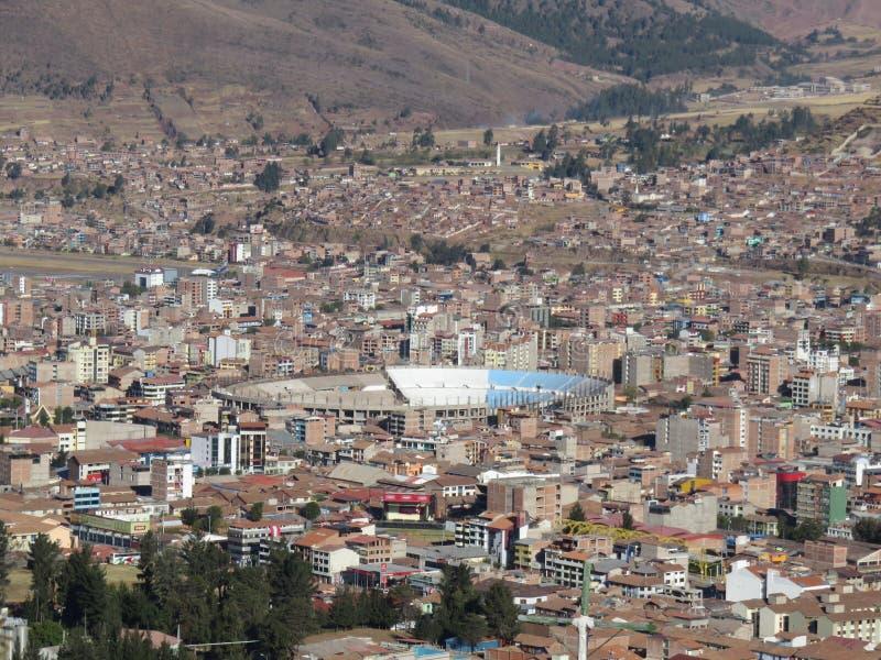Inca Garcilaso de la Vega Stadium Cusco Perú foto de archivo