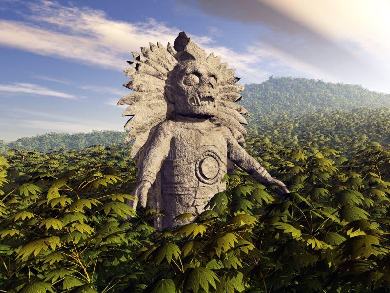Inca God vector illustratie