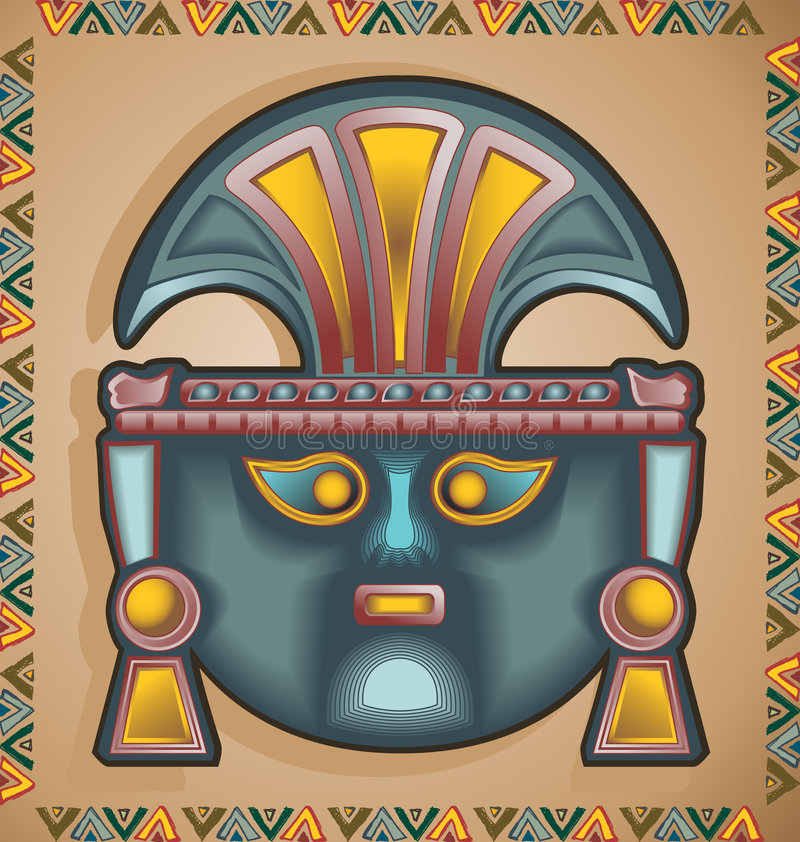 Download Inca Mask Royalty Free Stock Photo - Image: 8089395