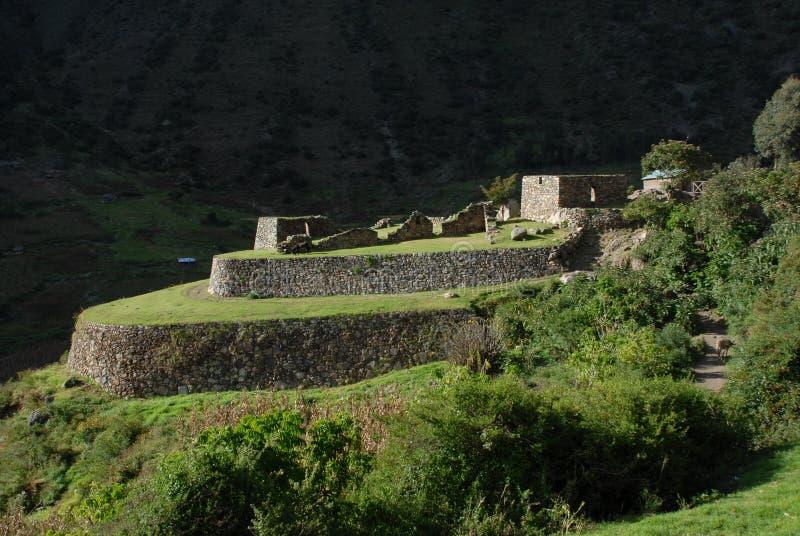 Inca Ruins fotos de archivo