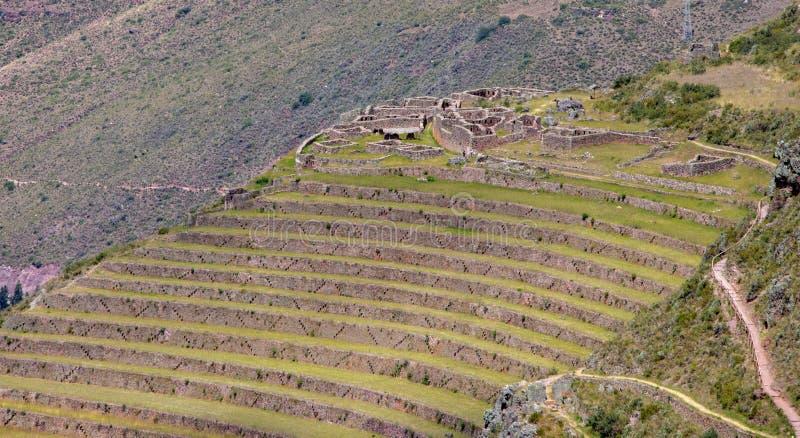 Inca Ruins dans Pisac photographie stock