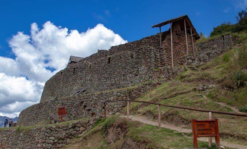 Inca Ruins dans Pisac photo stock