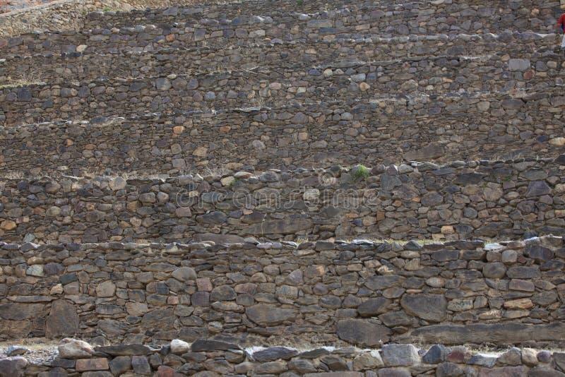 Inca Ruins no Peru de Ollantaytambo fotos de stock royalty free