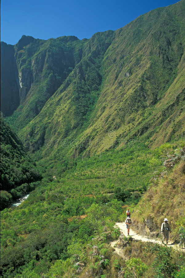 Inca Trail stock photography