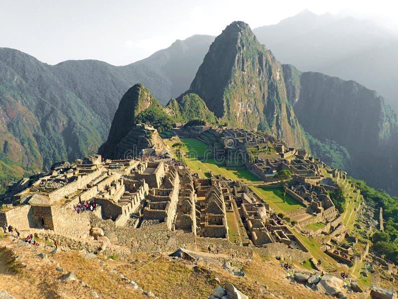 Inca trail, Machu Pichhu, Peru. Amazing trek in Inca trail Machu Pichhu royalty free stock image
