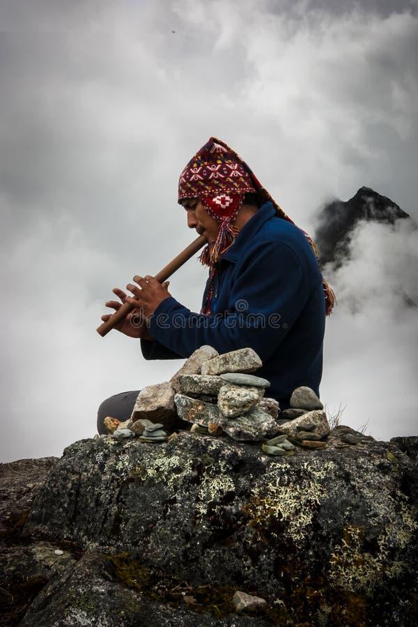 Inca Trail Prayer photo libre de droits