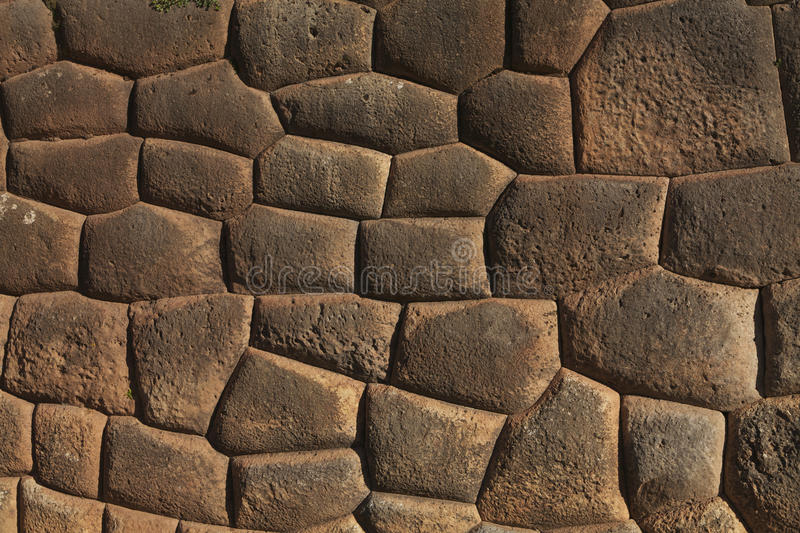 Download Inca wall stock photo. Image of stone, outdoor, brown - 27216842