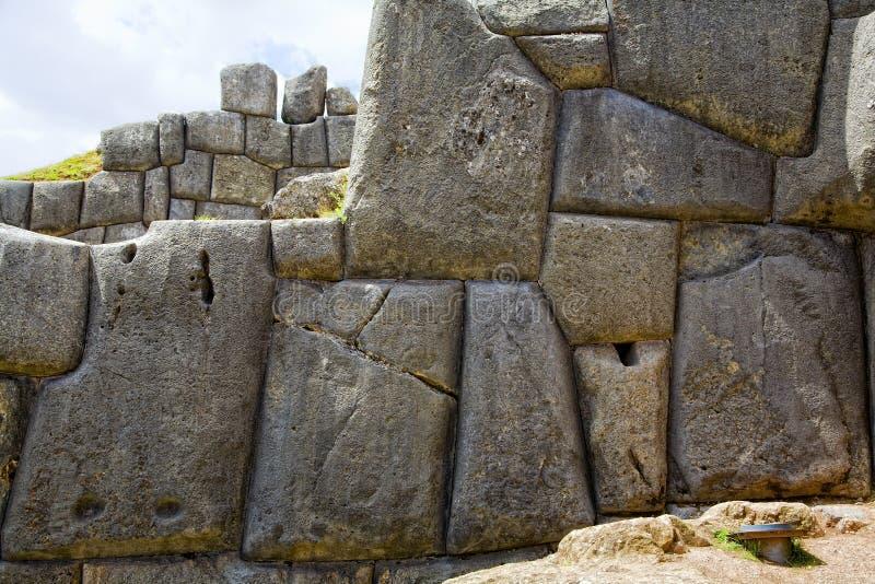 Inca Wall Royalty Free Stock Photography