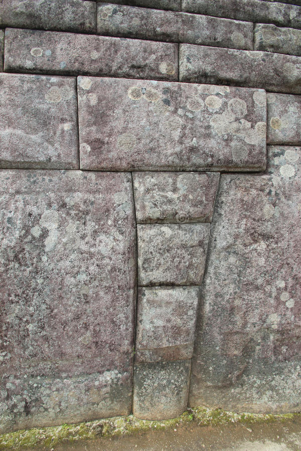 Download Inca Walls of Machu Picchu stock photo. Image of colors - 19374324