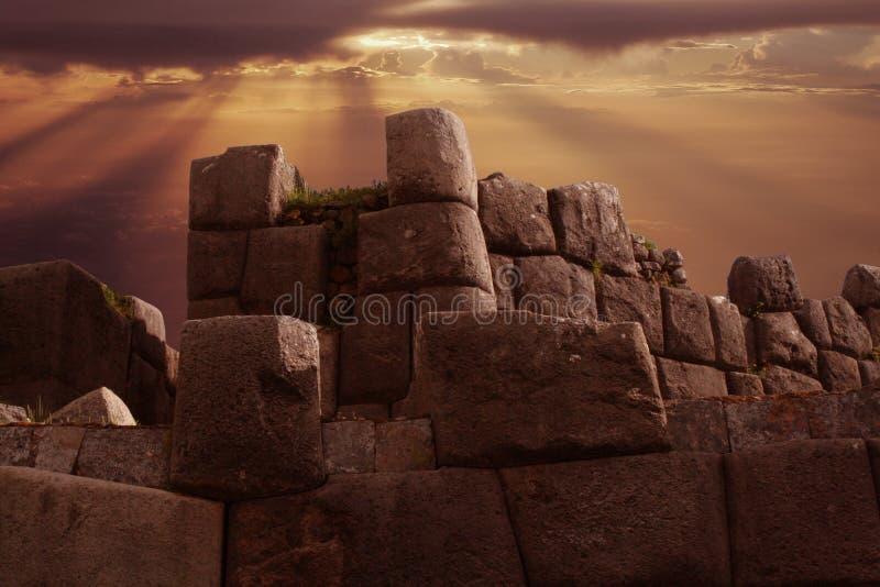 incaen fördärvar arkivbilder