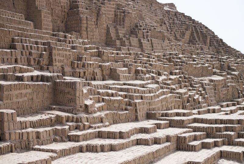 Incaen fördärvar texturbakgrund, Lima, Peru fotografering för bildbyråer