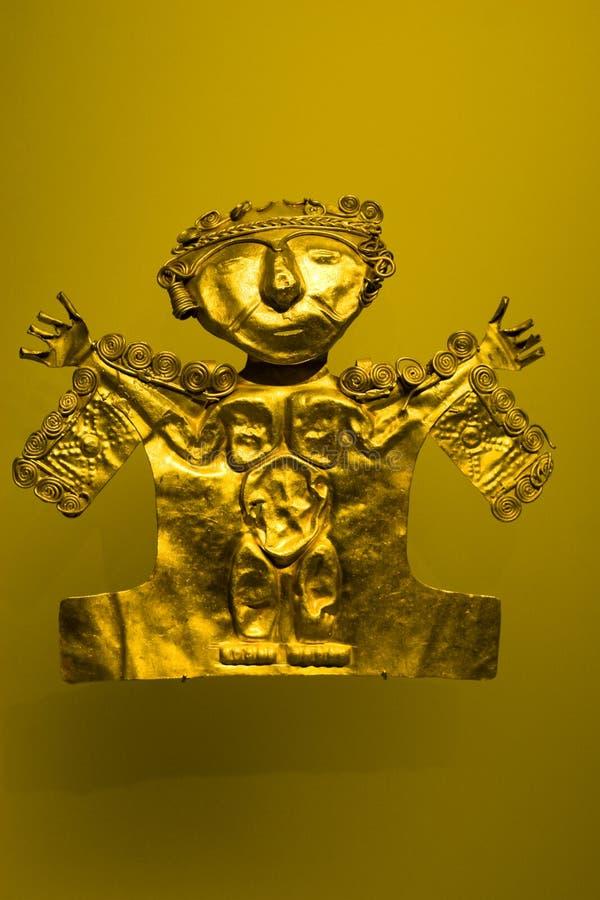 Incan framsidamaskering royaltyfria foton