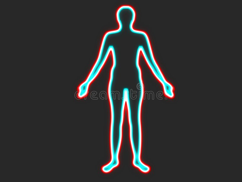 Download Incandescência humano ilustração stock. Ilustração de ícone - 531400