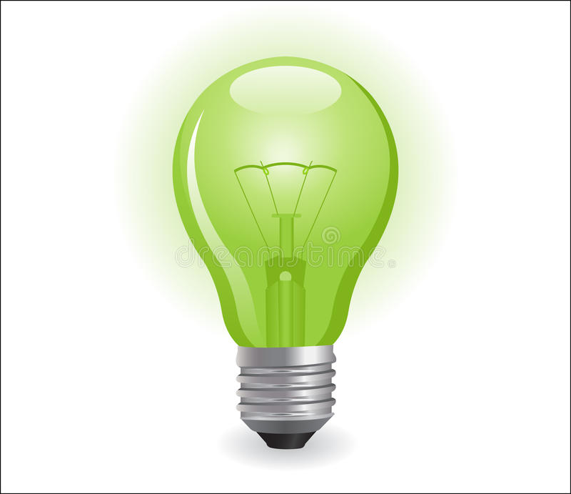 Incandescent Electric Lamp Stock Image
