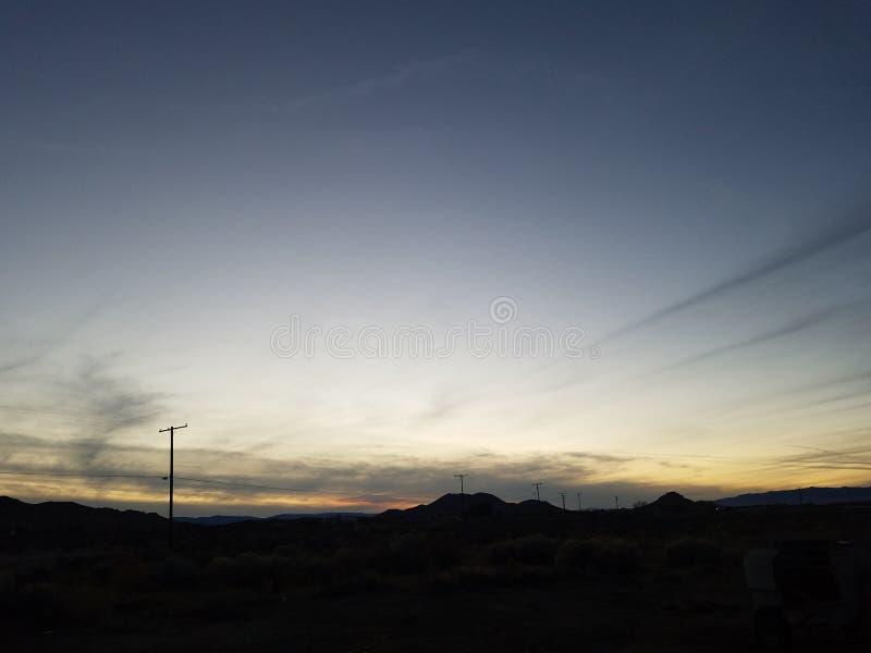 Incandescenza di tramonto immagini stock libere da diritti