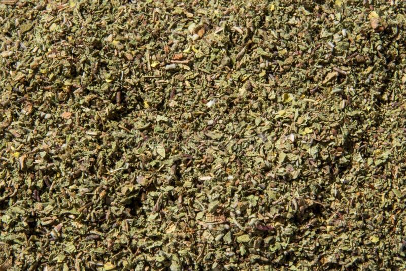 Incanus do Cistus - verde, fundo saudável, natural, secado da erva imagens de stock