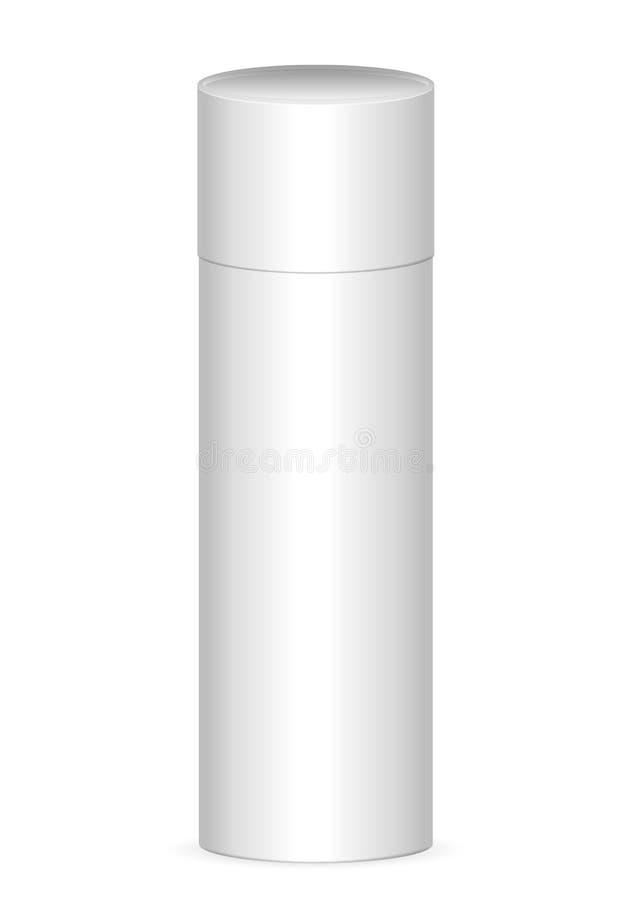 Incarti il tubo illustrazione di stock