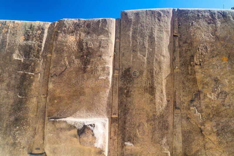 Incaruïnes van Ollantaytambo royalty-vrije stock foto's
