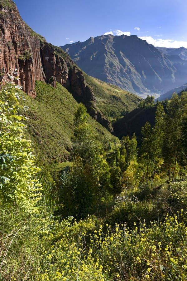 Incas święta Dolina - Peru obrazy royalty free