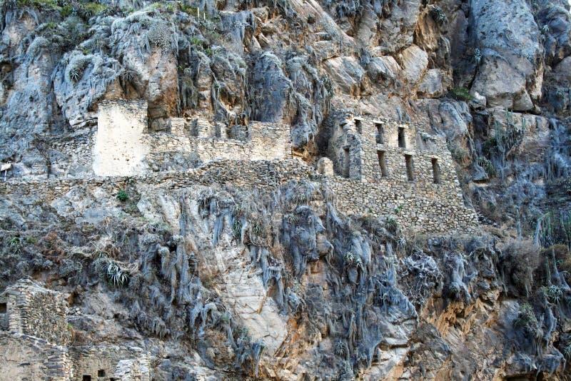 Incas budynki zdjęcie stock