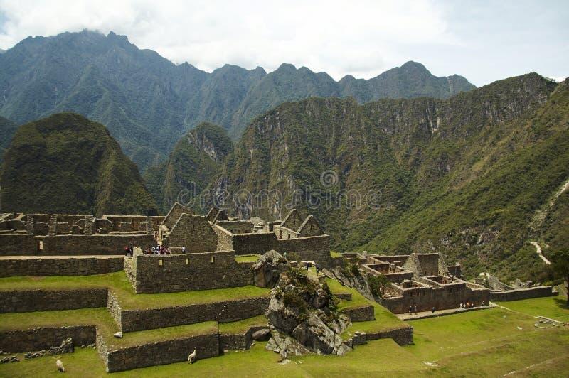 Download Incas City Machu-Picchu In Peru Stock Photo - Image: 1424432