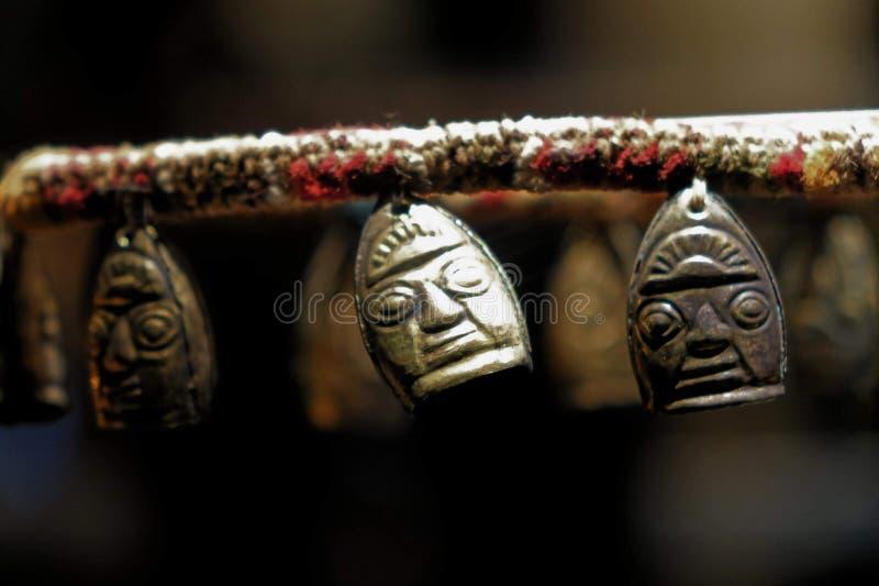 Incas jewellery obrazy royalty free
