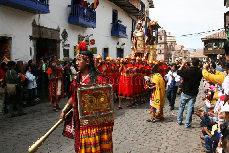 Incas królewiątko zdjęcia stock
