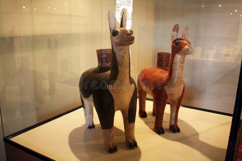 Incas lama obraz royalty free