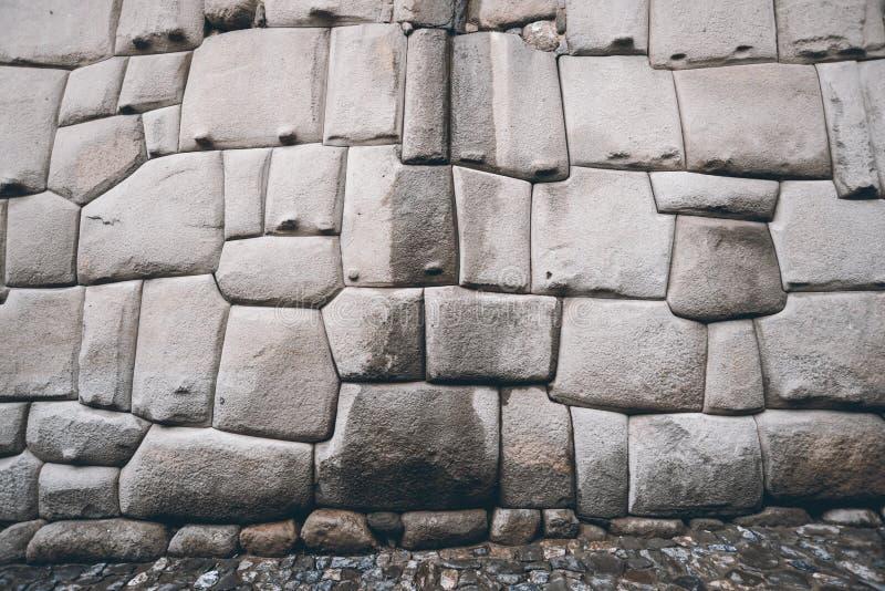 Incas piwnicy ściana zdjęcia royalty free