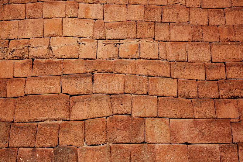 Incas setting. Inca wall in the city Macchu-Picchu,Peru stock image