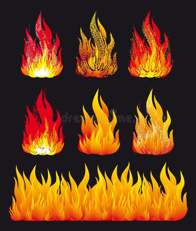 Incendie illustration stock