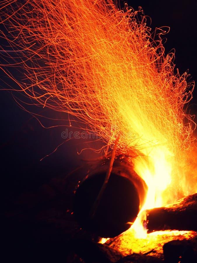 Incendie photographie stock libre de droits