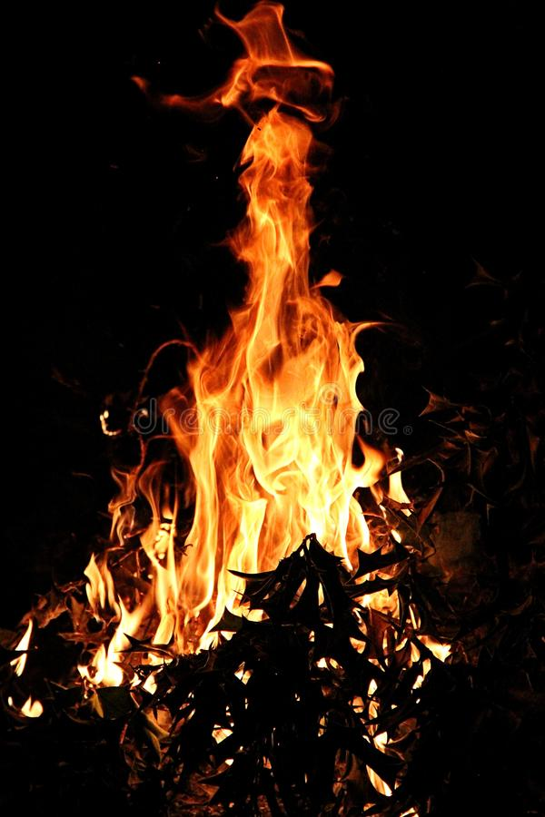 Incendie 2 photos stock